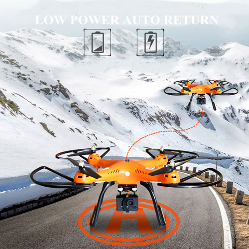 Квадрокоптер 899C с GPS (48 см) - Изображение