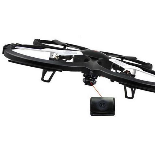 Квадрокоптер с видеокамерой UDI U818A (34 см, 2.4GHz)