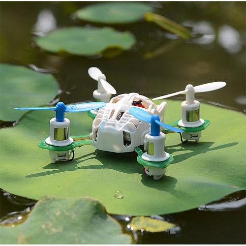 Радиоуправляемый мини-квадрокоптер - Фото