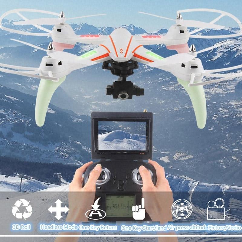 Квадрокоптер Q696 с трансляцией HD-видео (50 см, 2.4Ghz) - Картинка