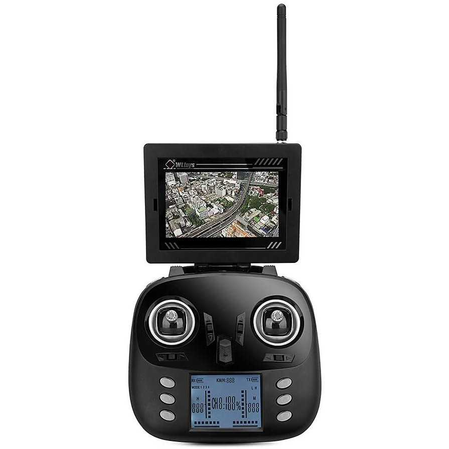 Квадрокоптер Q696 с трансляцией HD-видео (50 см, 2.4Ghz) - В интернет-магазине