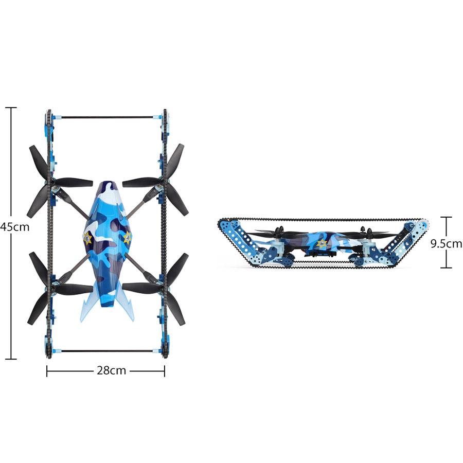 Радиоуправляемый Квадрокоптер-Танк Q919 (45 см, 2.4Ghz) - Фото