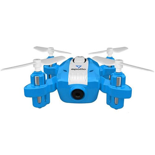 Мини-Квадрокоптер Шпион (8 см, трансляция видео, для iPhone и Android) - Фото