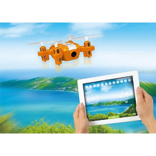 Мини-Квадрокоптер Шпион (8 см, трансляция видео, для iPhone и Android) - Изображение