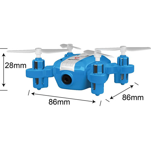 Мини-Квадрокоптер Шпион (8 см, трансляция видео, для iPhone и Android) - Фотография