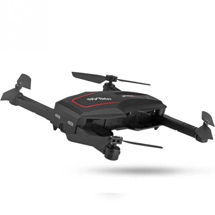 Складной Квадрокоптер Sky Dancer с трансляцией видео (26 см, 2.4Ghz) - Картинка