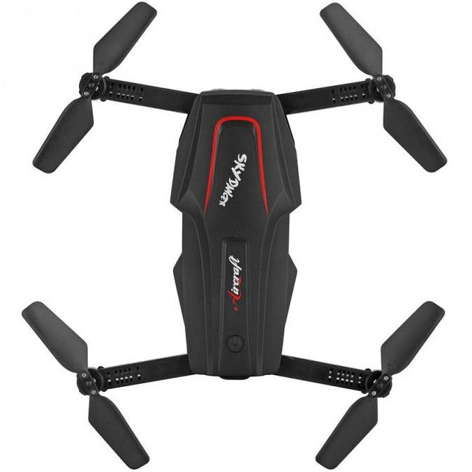 Складной Квадрокоптер Sky Dancer с трансляцией видео (26 см, 2.4Ghz) - Изображение