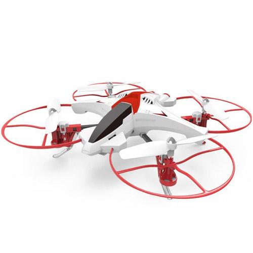 Красный Квадрокоптер Syma X14W с трансляцией HD видео (24 см, 2.4Ghz)