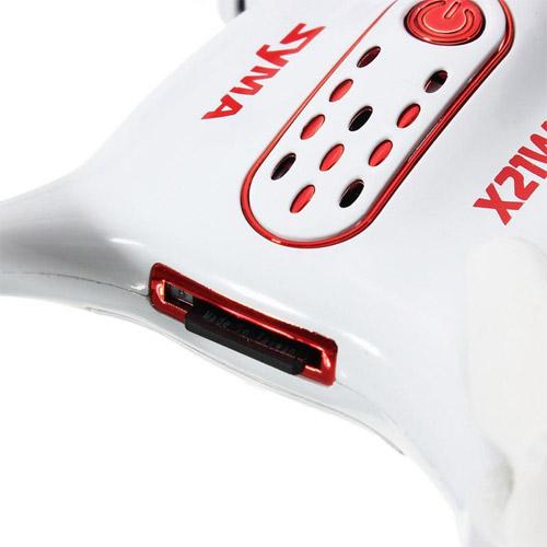 Микро-квадрокоптер Syma X21W с трансляцией видео (720p, 13 см, 2.4GHz) - Фото