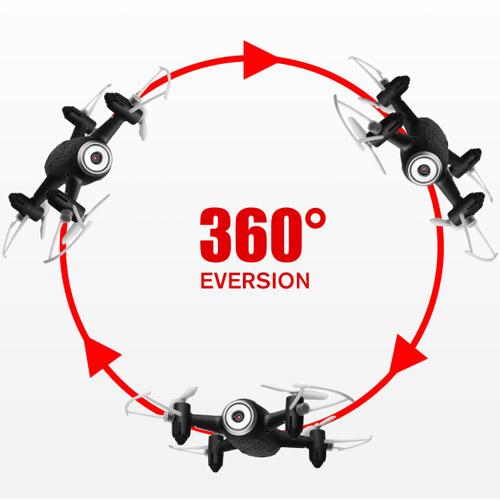 Квадрокоптер Syma X22W с трансляцией видео (14 см, 2.4Ghz) - Картинка