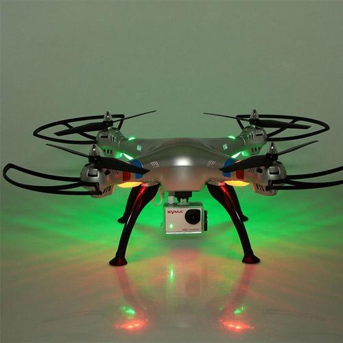 Большой Радиоуправляемый Квадрокоптер Syma X8G с камерой GoPro и трансляция видео (50 см, 2.4Ghz) - Картинка