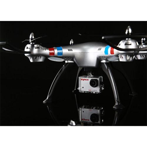 Большой Радиоуправляемый Квадрокоптер Syma X8G с камерой GoPro и трансляция видео (50 см, 2.4Ghz) - Фотография