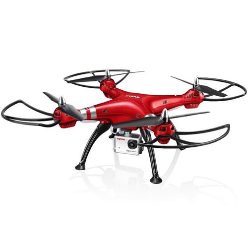 Большой Квадрокоптер Syma X8HG с камерой GoPro и трансляция видео на радиоуправление