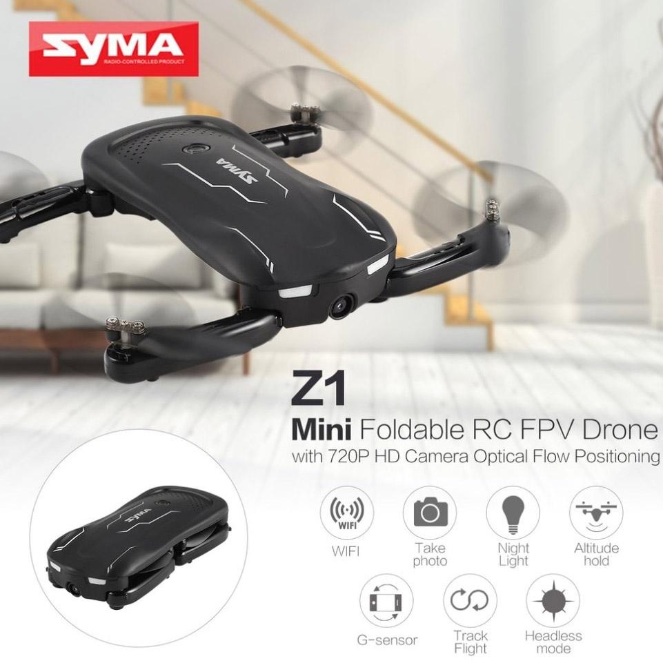 Складной квадрокоптер Syma Z1 с трансляцией (23 см) - В интернет-магазине