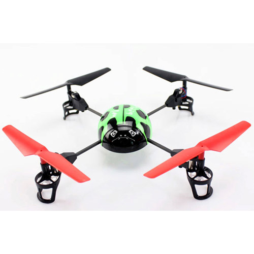 Зеленый Квадрокоптер Beetle Божья коровка (19 см, 2.4GHz)