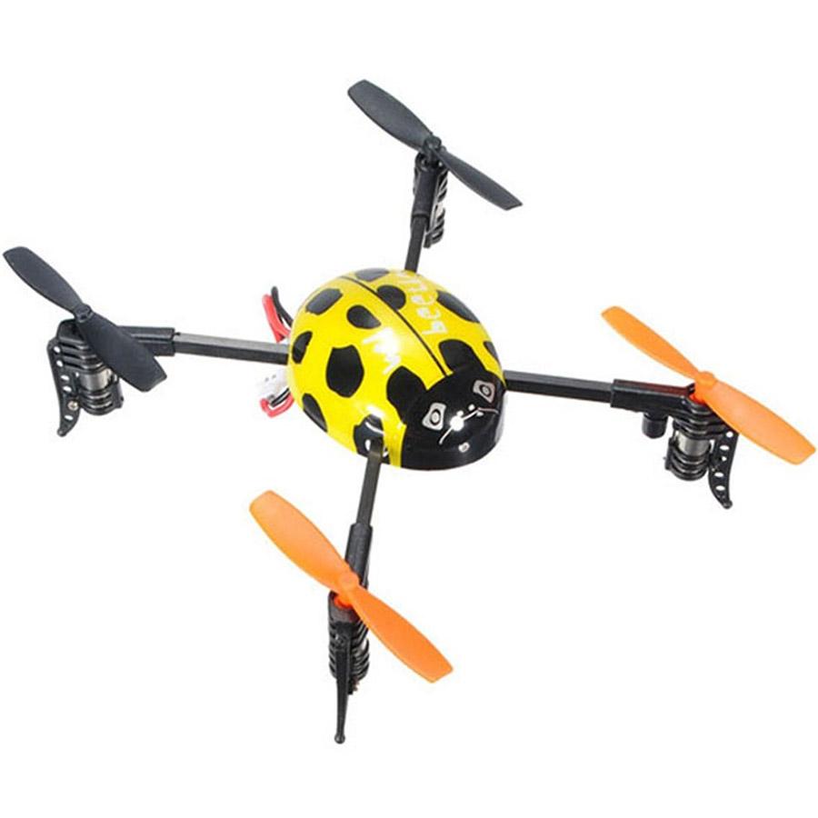 Желтый Квадрокоптер Beetle Божья коровка (19 см, 2.4GHz)