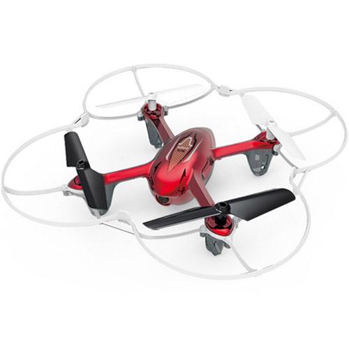 Красный Радиоуправляемый Мини-Квадрокоптер с камерой Syma X11C (15 см, 2.4Ghz)