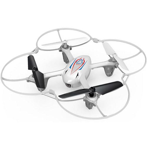Белый Радиоуправляемый Мини-Квадрокоптер с камерой Syma X11C (15 см, 2.4Ghz)