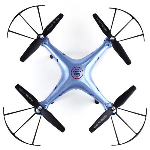 Радиоуправляемый Квадрокоптер Syma X5HW с трансляцией видео на смартфон (31 см, 2.4Ghz) - Фото