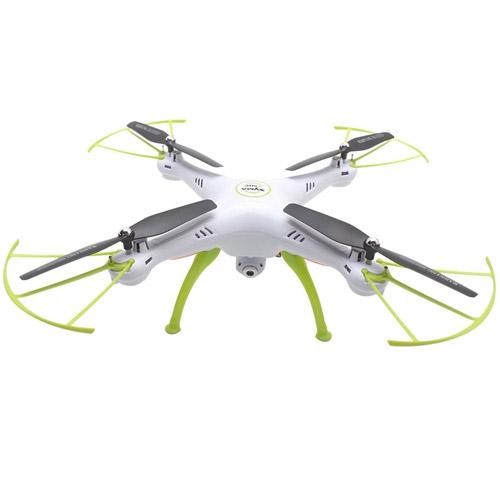 Белый Радиоуправляемый Квадрокоптер Syma X5HW с трансляцией видео на смартфон (31 см, 2.4Ghz)
