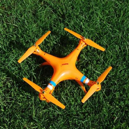 Радиоуправляемый Квадрокоптер Syma X8W с трансляцией видео в реальном времени - Фото