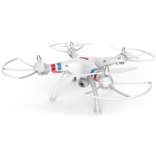 Белый Радиоуправляемый Квадрокоптер Syma X8W с трансляцией видео в реальном времени