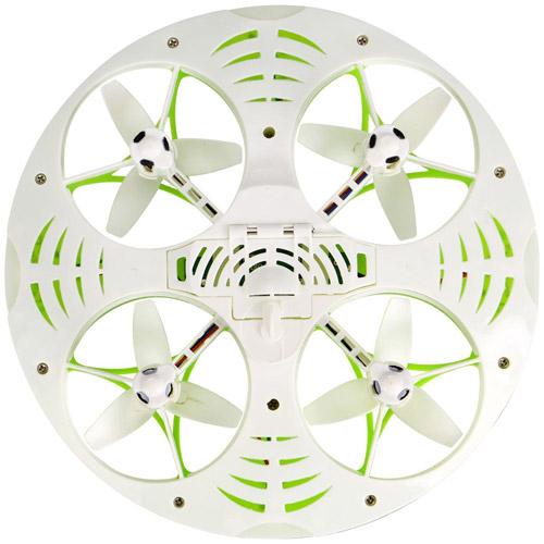 Радиоуправляемый Квадрокоптер-НЛО 3D Eversion (12 см, 2.4Ghz) - Фотография