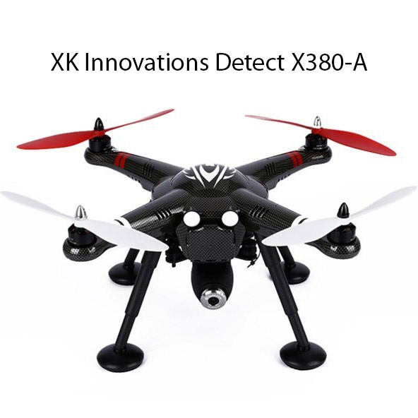 Квадрокоптер XK Innovations Detect X380 с HD камерой (30 см, 2.4Ghz) - В интернет-магазине