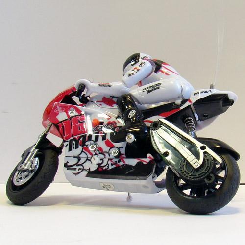 Радиоуправляемый Мотоцикл 1:10 ZC спорт-байк (19 см.) - Фотография