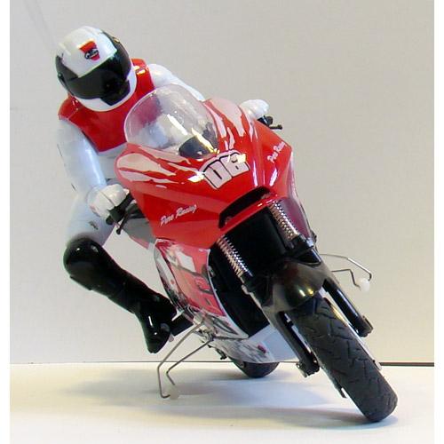 Радиоуправляемый Мотоцикл 1:10 ZC спорт-байк (19 см.) - В интернет-магазине