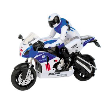 Радиоуправляемый Мотоцикл 1:10 ZC спорт-байк (19 см.) - Фото