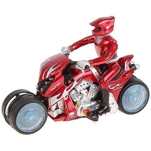 Мотоцикл 1:10 Развороты с заносом (30 см.)