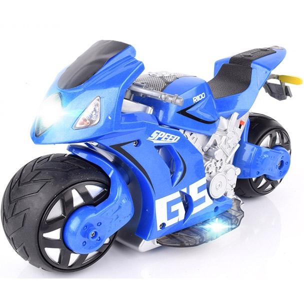 Радиоуправляемый Мотоцикл с рулем (1:8, 27 см.) - В интернет-магазине