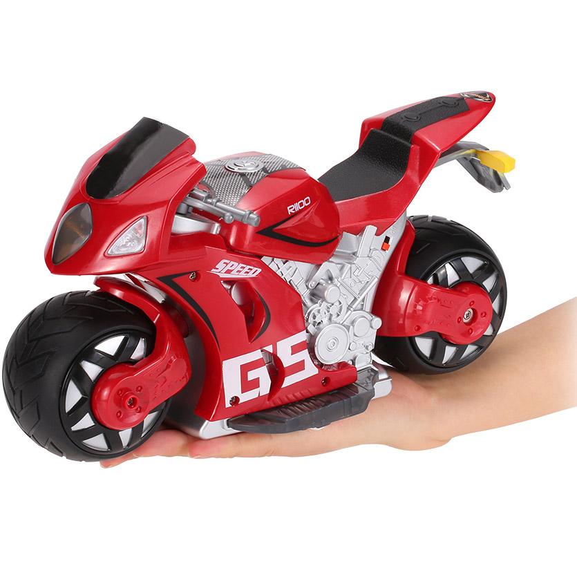 Радиоуправляемый Мотоцикл с рулем (1:8, 27 см.) - Фотография