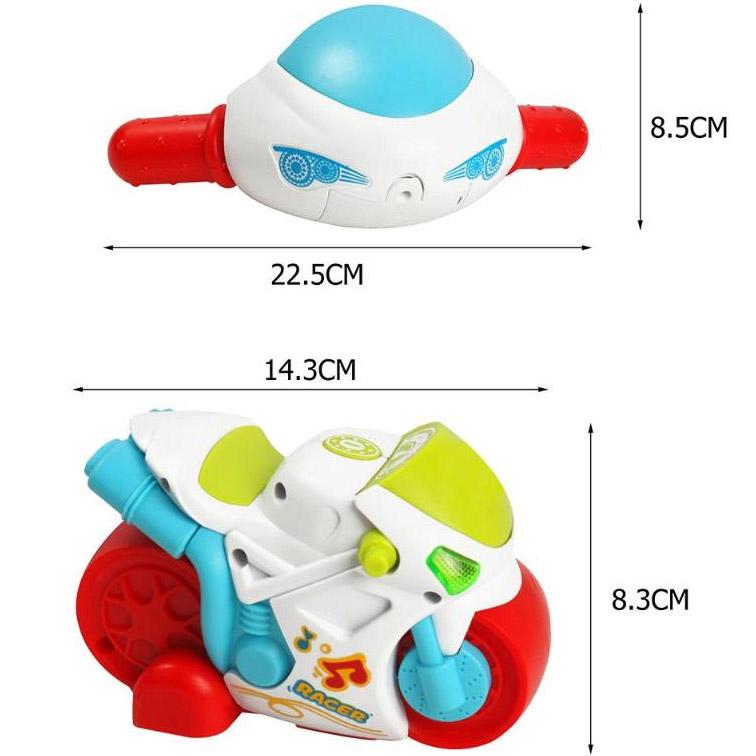 Детский радиоуправляемый мотоцикл (14 см.) - В интернет-магазине