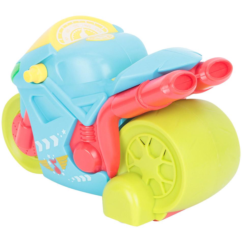 Детский радиоуправляемый мотоцикл (14 см.) - Изображение