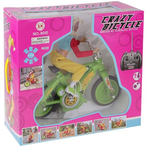 Радиоуправляемый велосипед с куклой (30 см) - В интернет-магазине