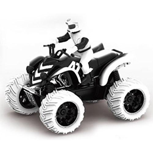 Белый Радиоуправляемый Квадроцикл с гонщиком (1:10, 23 см.)