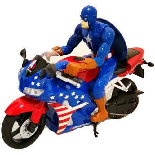 Радиоуправляемый Мотоцикл Капитан Америка (2.4Ghz, 23 см.)
