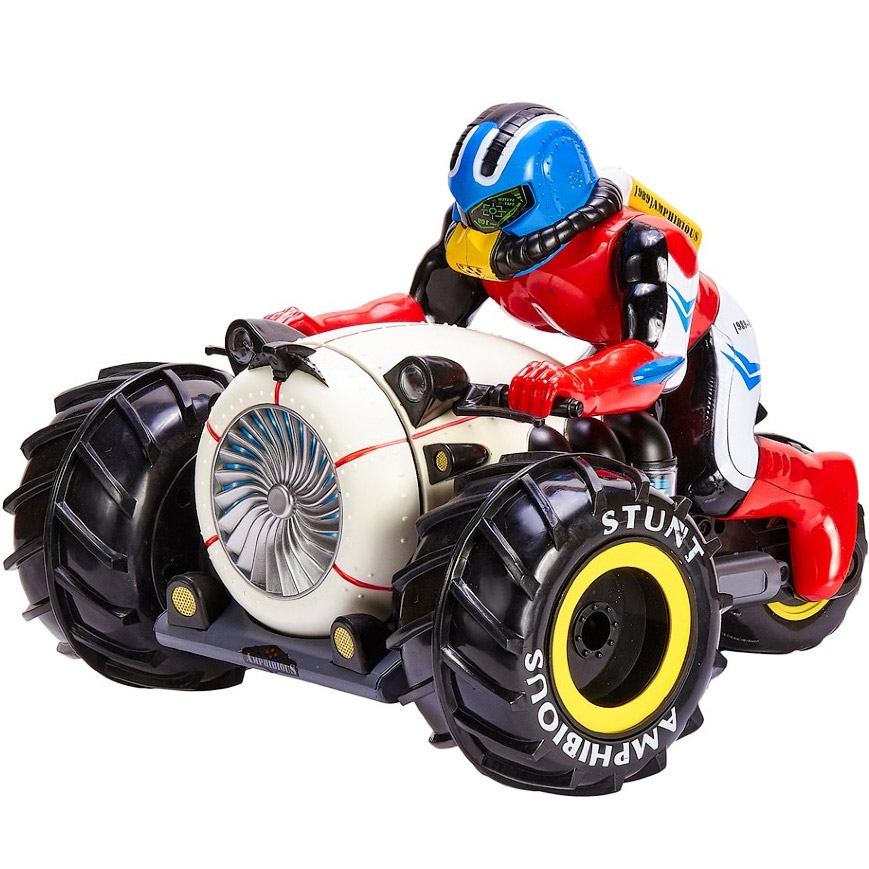 Радиоуправляемый Мотоцикл-Амфибия перевертыш (2.4GHz, 26 см.)