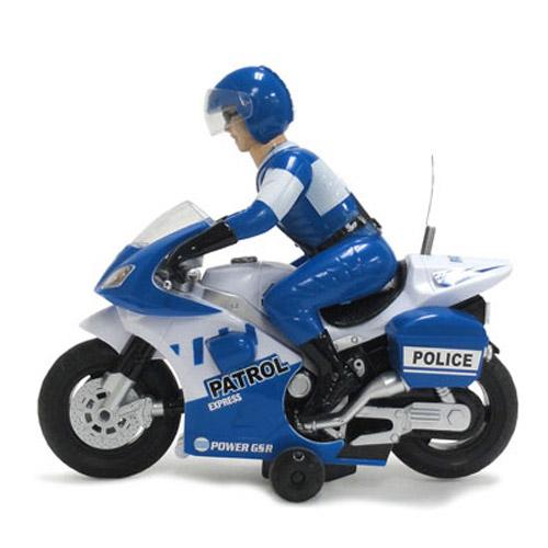 Радиоуправляемый Мотоцикл 1:10 Police Patrol (23 см)