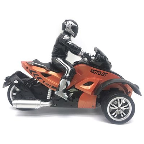 Радиоуправляемый Трехколесный мотоцикл (1:10, 27 см.) - Фото