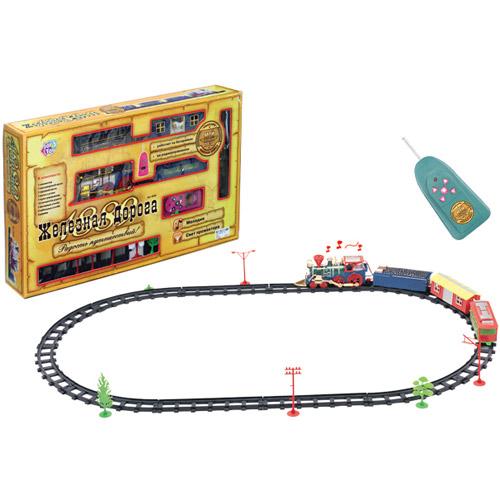 """Радиоуправляемая железная дорога """"Радость путешествий"""""""