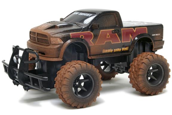 Радиоуправляемый Джип 1:15 Dodge Ram Mud Slinger