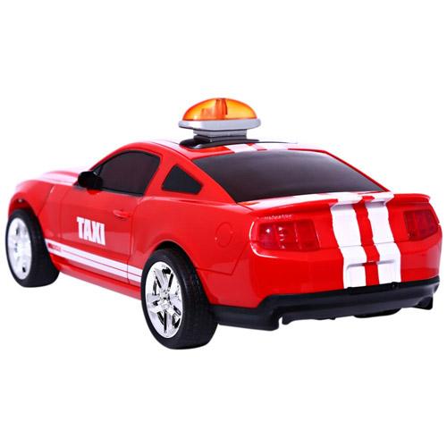 Радиоуправляемая машинка-перевертыш Crazy Taxi (29 см.) - Фотография