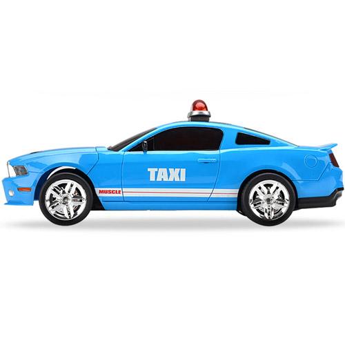 Радиоуправляемая машинка-перевертыш Crazy Taxi (29 см.) - Изображение