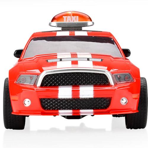 Радиоуправляемая машинка-перевертыш Crazy Taxi (29 см.) - Фото