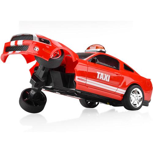 Радиоуправляемая машинка-перевертыш Crazy Taxi (29 см.)