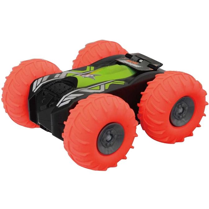 Оранжевый Радиоуправляемый Мини-Перевертыш MKB с надувными колесами (13 см)