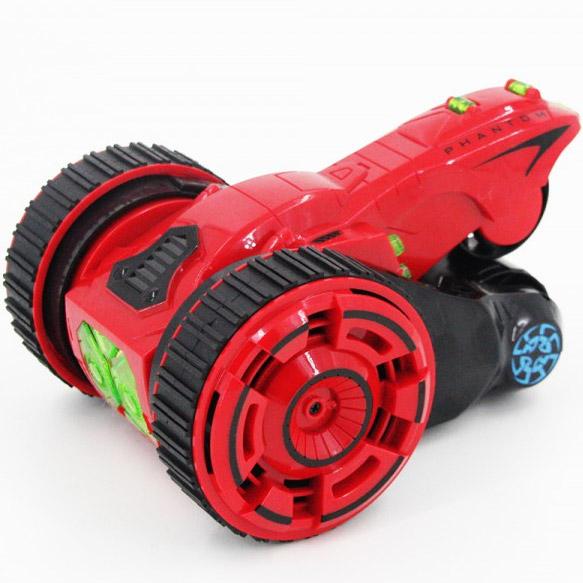 Красный Радиоуправляемый трюковый Перевертыш Торнадо (29 см)